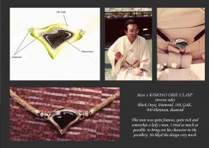 Kimono designer  Obie pic and design